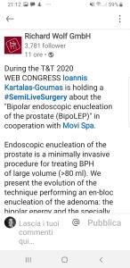 Goumas enucleazione bipolare prostata